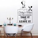 Wolf - Throw me to the wolves and i will return leading the pack.. Wall Sticker, transfer