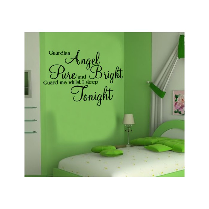 guardian angel children wall art sticker quote large 50 beautiful designs of wall stickers wall art decals