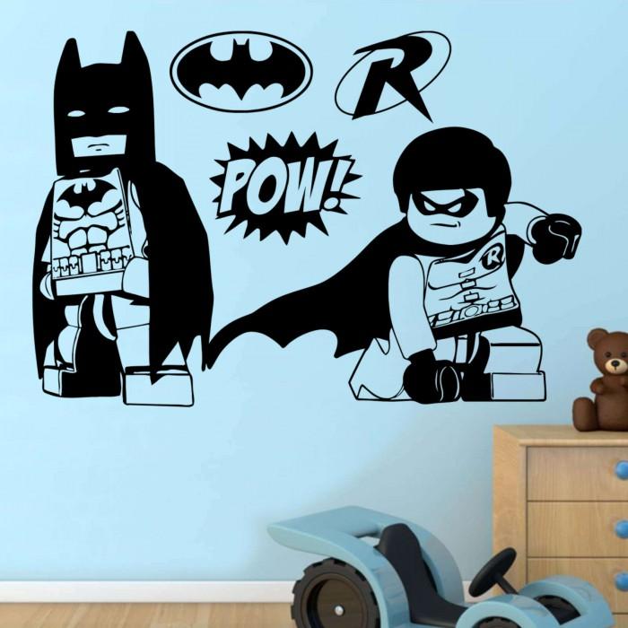 batman and robin lego heroes wall sticker transfer decal 4