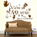 HOME SWEET HOME wall art Sticker quote LARGE decor Wall Transfer