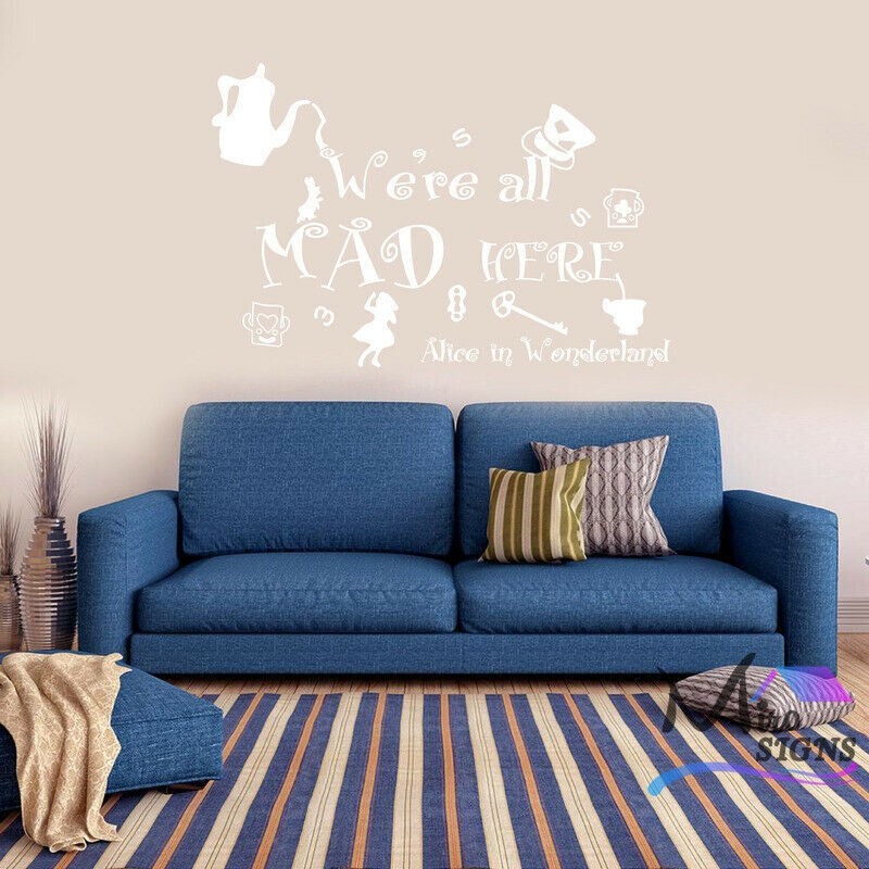 home sweet home wall art sticker quote large decor wall