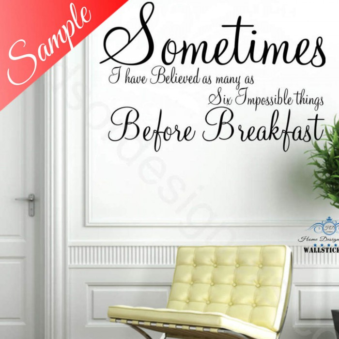 design your own wall art quote text name sticker words - Wall Stickers Design Your Own