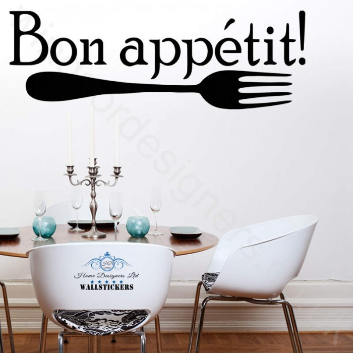 Lovely Bon Appetit Kitchen Wall