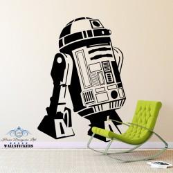 STAR WARS - R2D2 Droid Robot Vinyl Wall Art Sticker Bedroom Kids Boys Room Decal