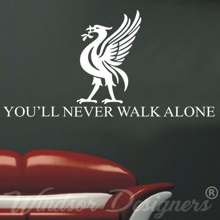 you ll never walk alone sticker kamos sticker. Black Bedroom Furniture Sets. Home Design Ideas