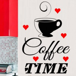 Coffee Time with Hearts