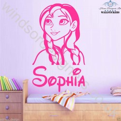 Personalised Frozen Anna...