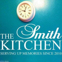 Personalised Kitchen Family...