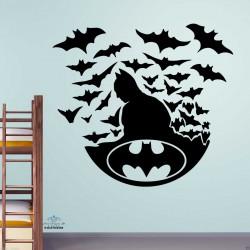 Batman With Bats Kids Room...