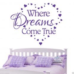 Where Dreams Come True with...