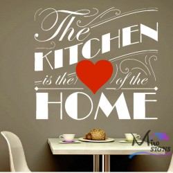 The Kitchen Is The Heart of...