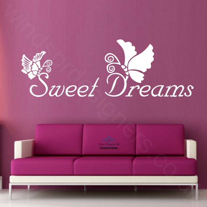 Relatively sweet-dreams-with-butterflies-afc1-wall-sticker-transfer-decal IV01
