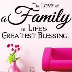 The Love of a Family is...
