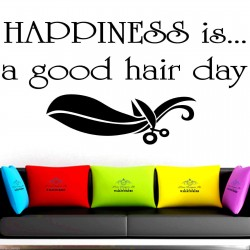 Happiness is a good hair...