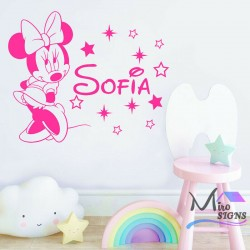Personalised Name Minnie...