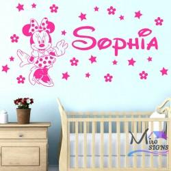 Personalised Name Minnie...