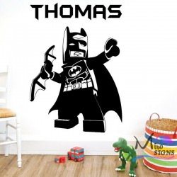 Batman Personalised Wall...