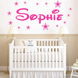 Personalised WALL STICKER...